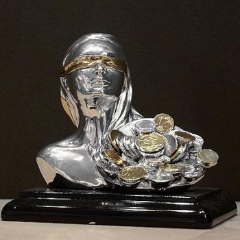 "Скульптура ""Фортуна"" (бюст на подставке)"