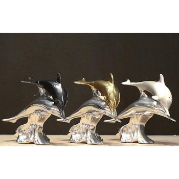 """Скульптура """"Пара дельфинов"""""""