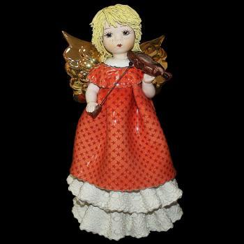 "Статуэтка "" Ангел со скрипкой"""