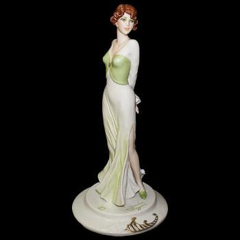 """Статуэтка """"Дама в зеленом платье"""""""