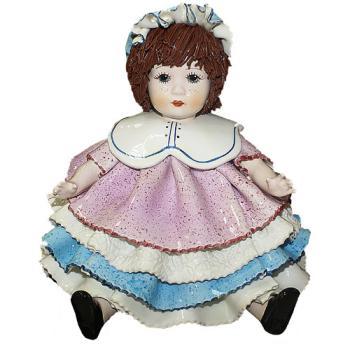 """Статуэтка """"Кукла в чепчике """""""
