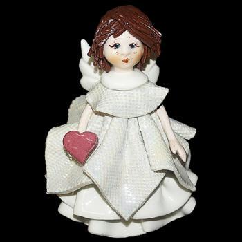 """Статуэтка """"Маленький ангел с сердцем"""""""