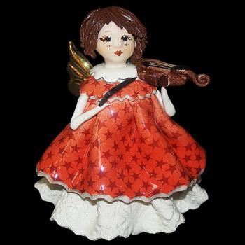 """Статуэтка """"Маленький ангел со скрипкой"""""""