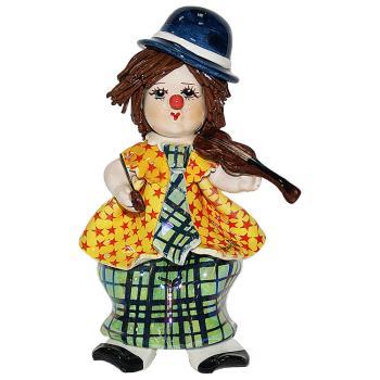 "Статуэтка ""Маленький клоун со скрипкой"""