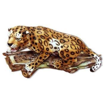 Статуэтка ростовая Леопард крадущийся