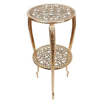 Столик для телефона, золото