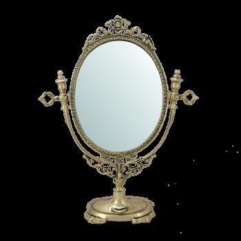 Зеркало  Будуар настольное, золото