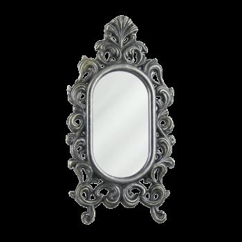 Зеркало настольное Овальное, под бронзу