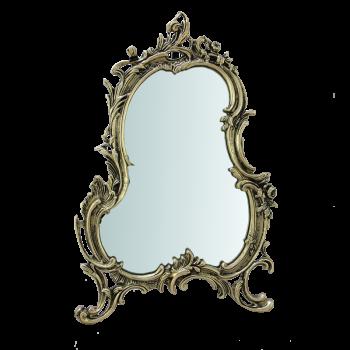 Зеркало Рамос настольное, золото