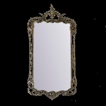 Зеркало в раме Рэтта, золото